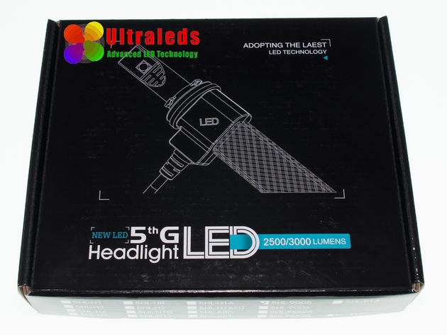 Żarówka zestaw LED H7 5000LM Philips Xenon CANBUS